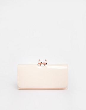 ted baker porte monnaie fermoir clip en cristal rose chair. Black Bedroom Furniture Sets. Home Design Ideas