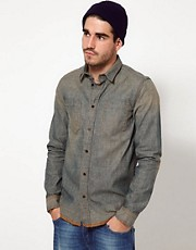 Nudie Shirt Ace Dusty Denim