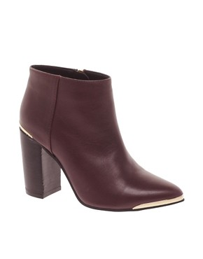 ASOS ADDICT Leather Ankle Boots