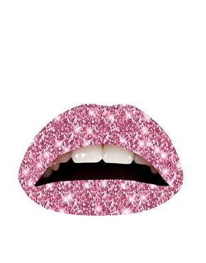 Image 1 of Violent Lips Temporary Lip Tattoos - Glitter