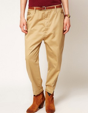 Image 4 ofMaison Scotch Chino with Drop Crotch