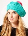 Image 1 ofMiss Pom Pom Bobble Berret