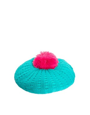 Image 2 ofMiss Pom Pom Bobble Berret