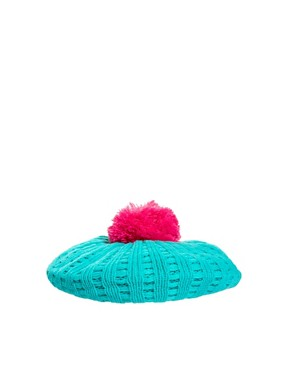 Image 4 ofMiss Pom Pom Bobble Berret