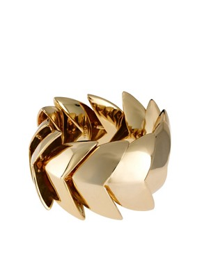 Image 1 ofGiles &amp; Brother Nara Bright Gold Bracelet