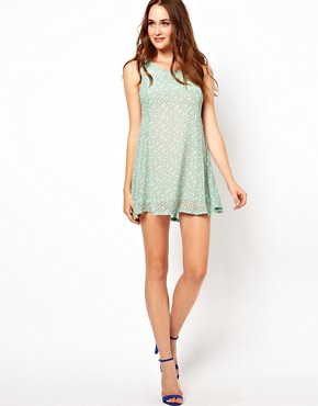 Image 4 ofGlamorous Polka Shift Dress