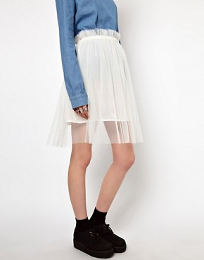 Image 4 ofThe WhitePepper Tulle Skirt