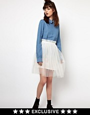 The WhitePepper Tulle Skirt