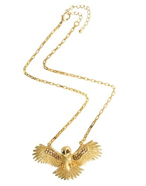 Image 2 ofWildfox Owl Necklace