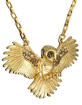 Image 4 ofWildfox Owl Necklace
