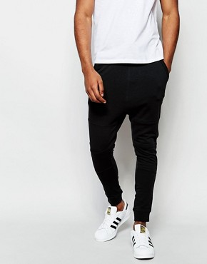 Jack & Jones Drop Crotch Joggers