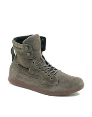 Diesel - Idol - Scarpe da ginnastica alte scamosciate