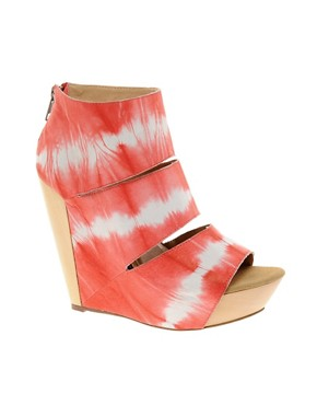 Image 1 ofMesseca Coraline Tie Dye Wedge Shoe Boots