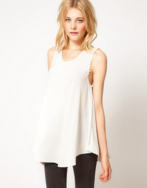 Image 1 ofFor Love &amp; Lemons Lovely Tank Top