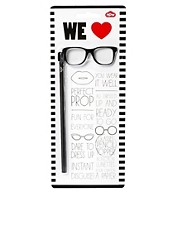 Geek Glasses Pencil Topper