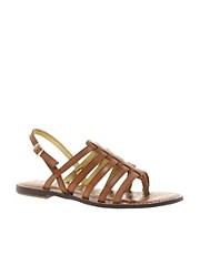 Sam Edelman Hamilton Leather Flat Sandal