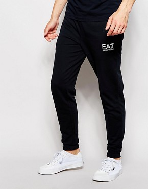 Emporio Armani EA7 Jogger with Cuff & Logo Regular Fit