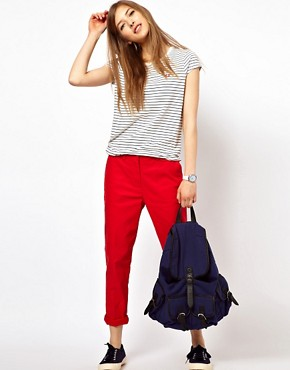 Image 1 ofFred Perry Slim Cropped Chino