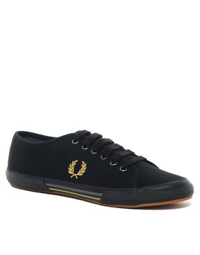 Image 1 of Fred Perry Vintage Tennis Plimsolls