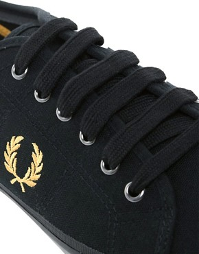Image 2 of Fred Perry Vintage Tennis Plimsolls