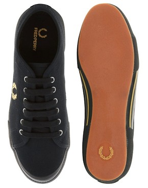 Image 3 of Fred Perry Vintage Tennis Plimsolls