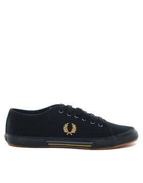 Image 4 of Fred Perry Vintage Tennis Plimsolls