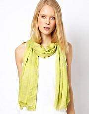 Whistles Crosshatch Print Scarf