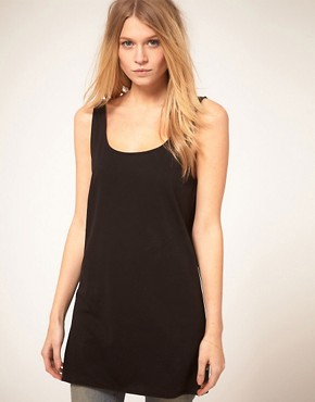 Image 1 ofASOS Vest Tunic with Scooped Out Back