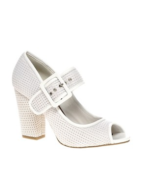 Image 1 ofASOS SYNC Mary Jane Heeled Shoes