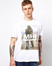 MHI By Maharishi T-Shirt Sniper Logo