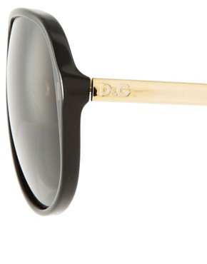 Image 4 ofDolce &amp; Gabbana Aviator Sunglasses