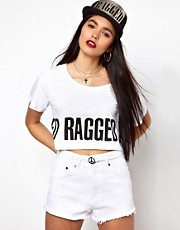 The Ragged Priest Crop T Shirt with Logo