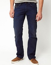 Diesel - Larkee 811K - Jeans con vestibilit dritta effetto consumato
