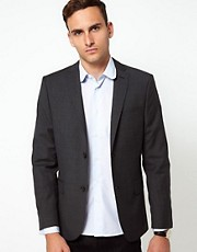 J Lindeberg Jacket Slim Fit Wool Check