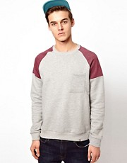 Sudadera con manga ragln de Bellfield