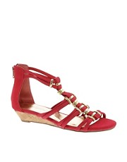 New Look Holla Low Wedge Flat Sandals