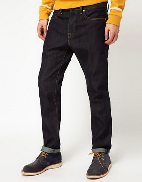 Image 1 ofLevis Made &amp; Crafted Jeans Tack Slim Fit Indigo Rigid