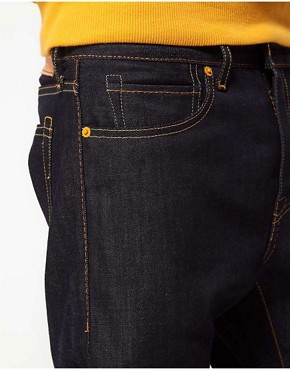 Image 4 ofLevis Made &amp; Crafted Jeans Tack Slim Fit Indigo Rigid