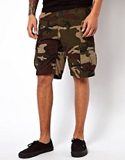 Carhartt Cargo Shorts Slim Aviation Camo Ripstop