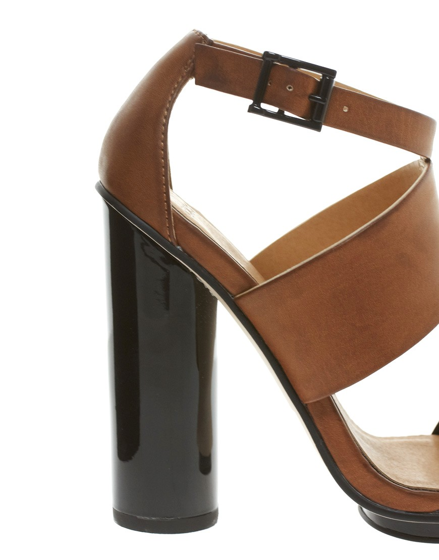 Image 2 of ASOS HOCUS Heeled Sandals