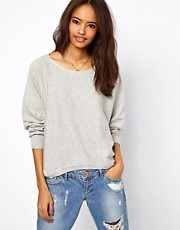 ASOS Dipped Hem Jumper