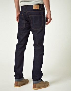 Image 2 ofRiver Island Ninja Raw Slim Fit jeans