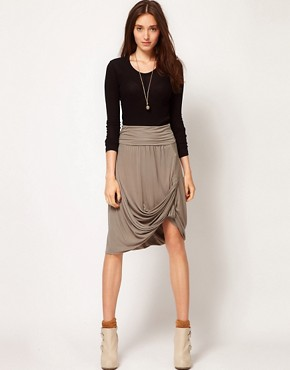 Image 1 ofJNBY Draped Skirt