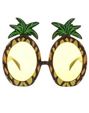 Image 2 ofASOS Pineapple Sunglasses