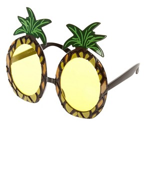 Image 1 ofASOS Pineapple Sunglasses