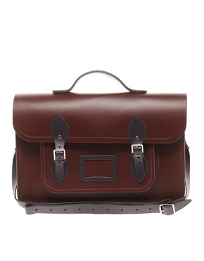 Image 1 ofThe Cambridge Satchel Company 15&quot; Leather Satchel
