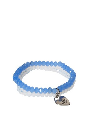 Image 1 ofLipsy Exclusive To ASOS Glass Bead Bracelets
