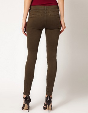 Image 2 ofRiver Island Erin Coloured Skinny Jean with Zip Detail