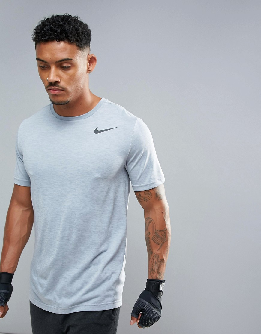 Nike Training Pro HyperDry T-Shirt In Grey 832835-043 - Grey