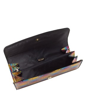 Image 2 ofALDO Holvey Multi Coloured Sequin Clutch Bag